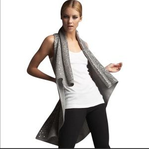 Alice + Olivia Cascade Sequin Long Vest